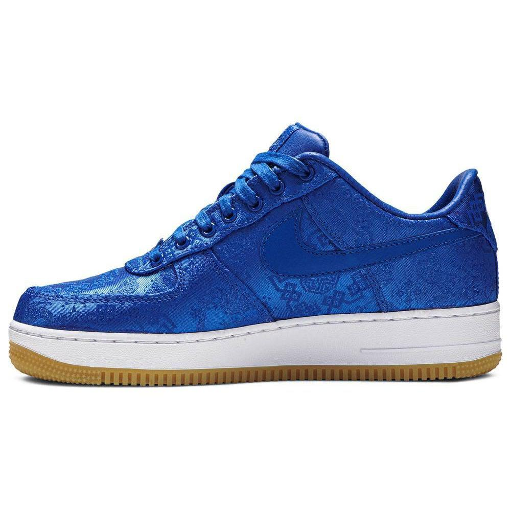 Nike CLOT x Air Force 1 PRM 'Royal Silk' | Waves Never Die | Nike | Sneakers