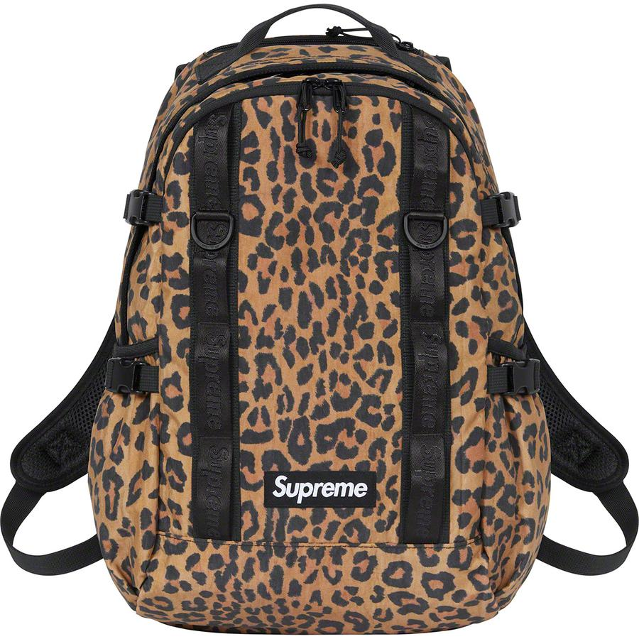 Supreme Backpack (Leopard) | Waves Never Die | Supreme | Bag