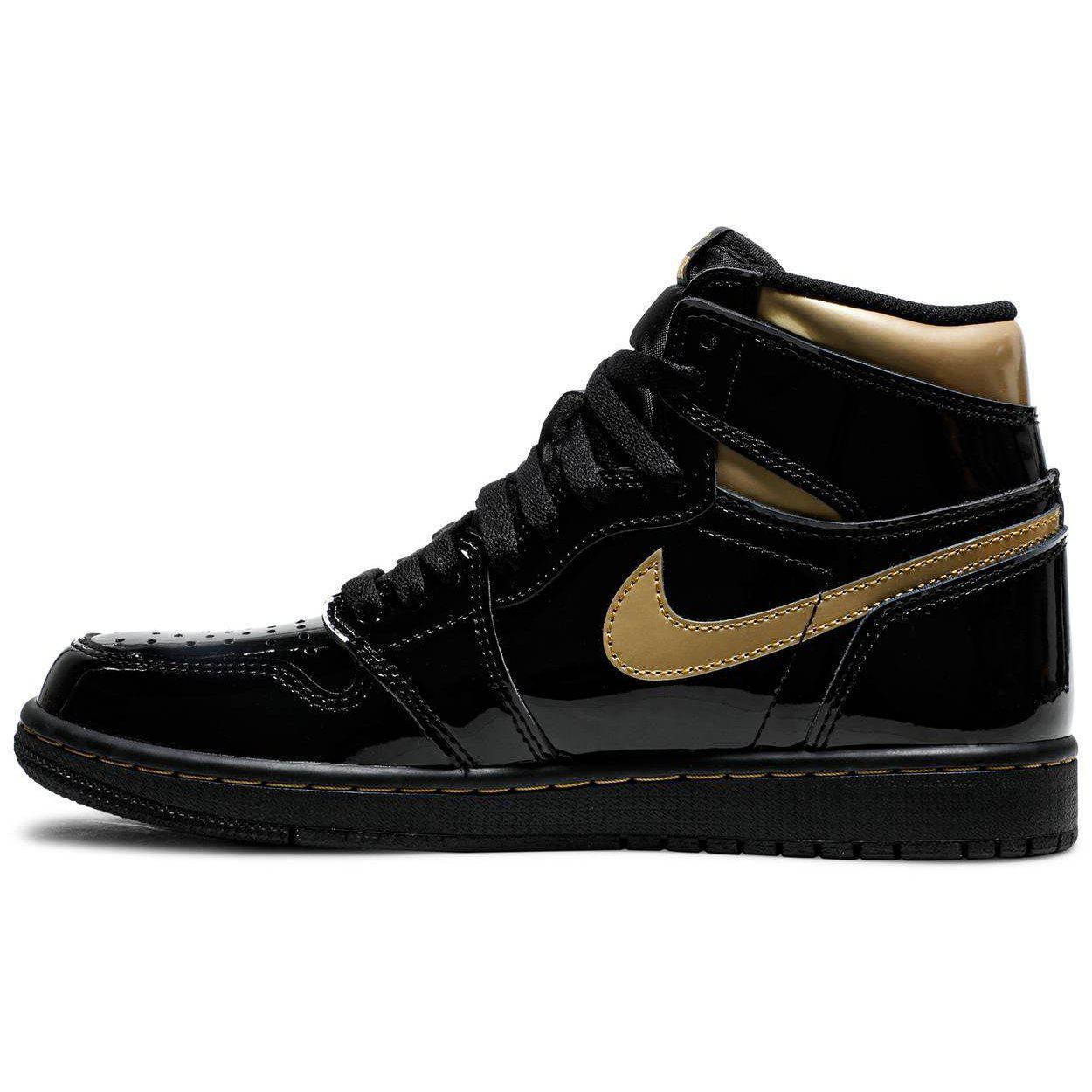 Nike Air Jordan 1 Retro High OG 'Black Metallic Gold' | Waves Never Die | Nike | Sneakers