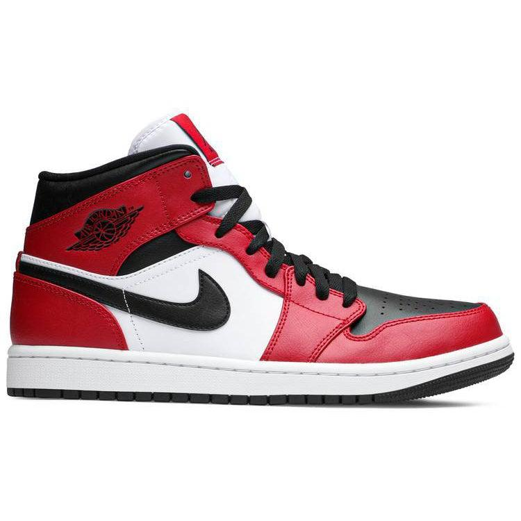 Nike Air Jordan 1 Mid 'Chicago Black Toe' | Waves Never Die | Nike | Sneakers