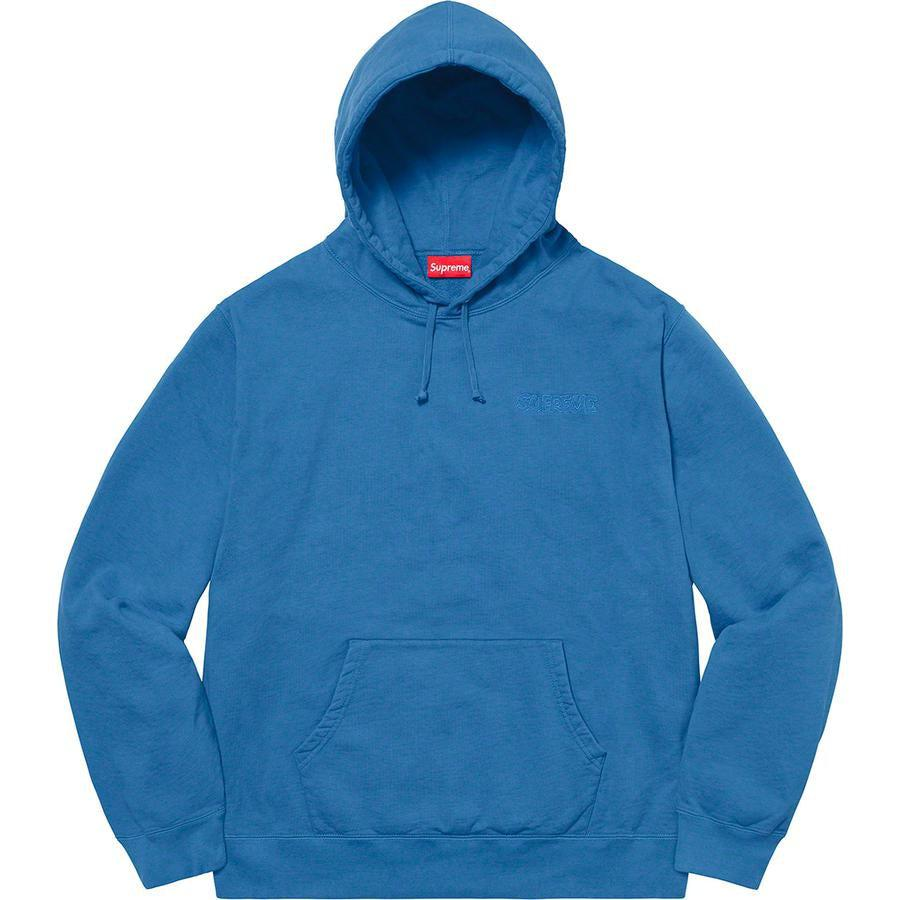 Supreme®/ Smurfs™ Hooded Sweatshirt (Blue) | Waves Never Die | Supreme | Hoodie
