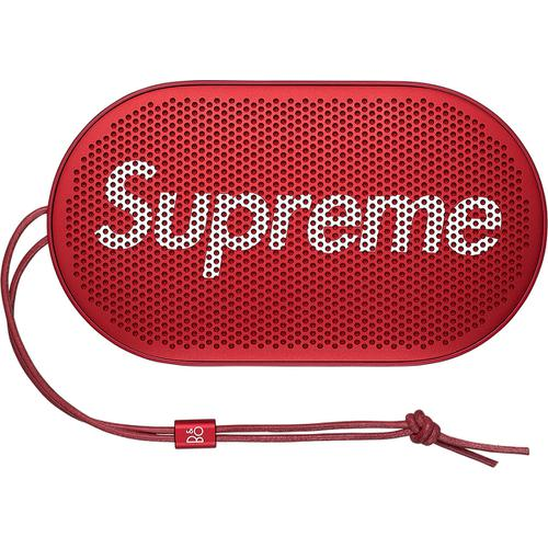 Supreme®/B&O PLAY by Bang & Olufsen® P2 Wireless Speaker | Waves Never Die | Supreme | Accessories