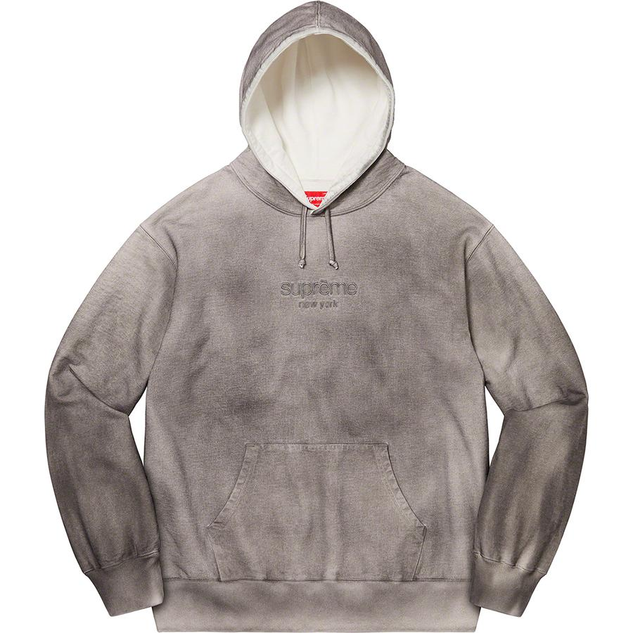 Supreme Spray Hooded Sweatshirt (White) | Waves Never Die | Supreme | Hoodie