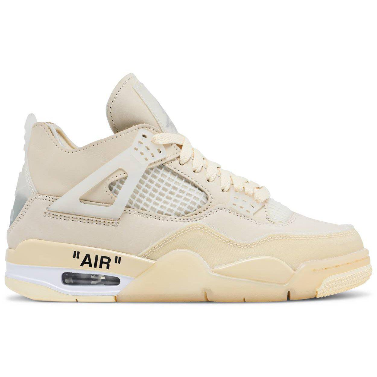 Nike Off-White x Wmns Air Jordan 4 SP 'Sail' | Waves Never Die | Nike | Sneakers