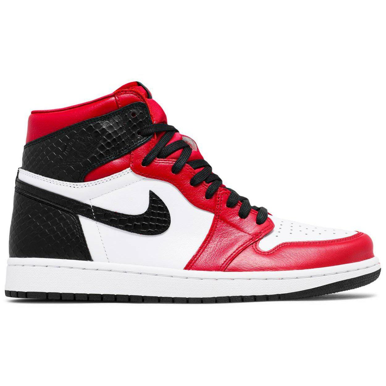 Nike Wmns Air Jordan 1 Retro High OG 'Satin Red' | Waves Never Die | Nike | Sneakers