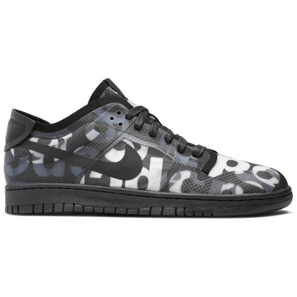 Nike Comme des Garçons x Wmns Dunk Low 'Monogram Print' | Waves Never Die | Nike | Sneakers