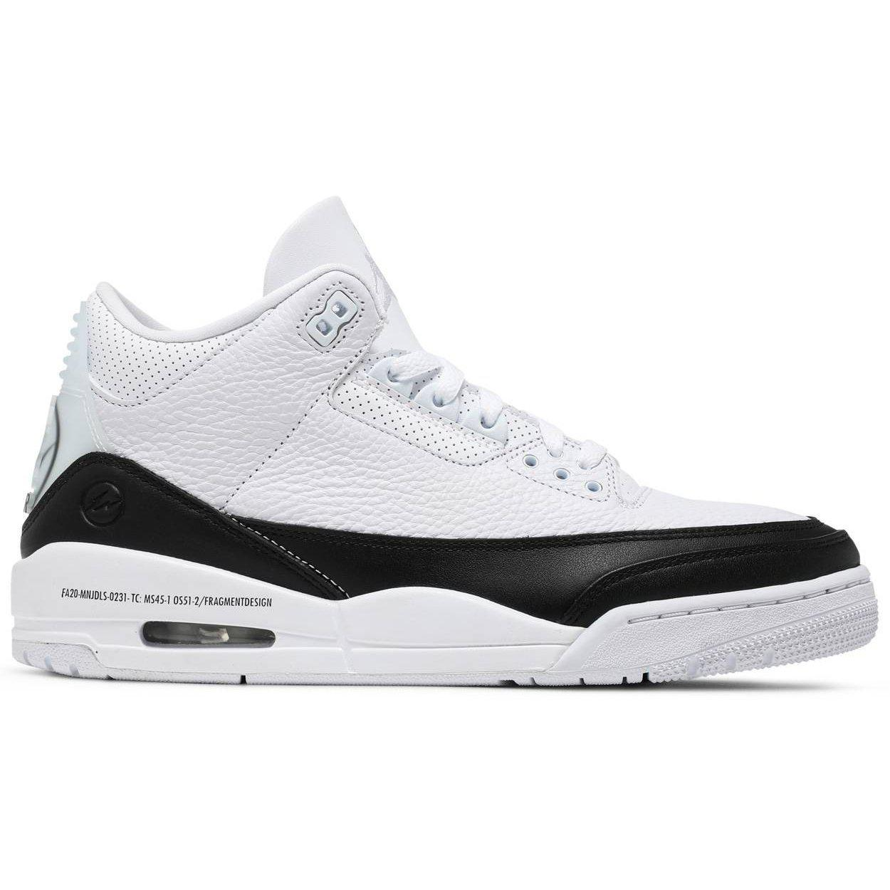 Nike Fragment Design x Air Jordan 3 Retro SP 'White' | Waves Never Die | Nike | Sneakers