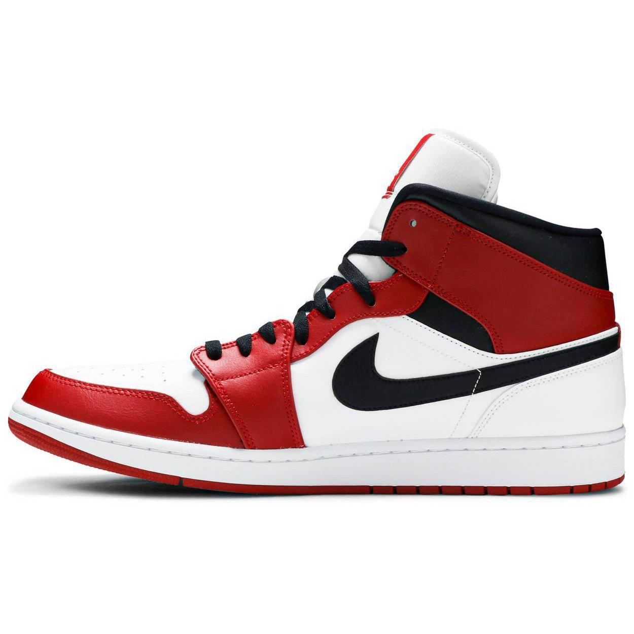 Nike Air Jordan 1 Mid 'Chicago White' Mens. | Waves Never Die | Nike | Sneakers