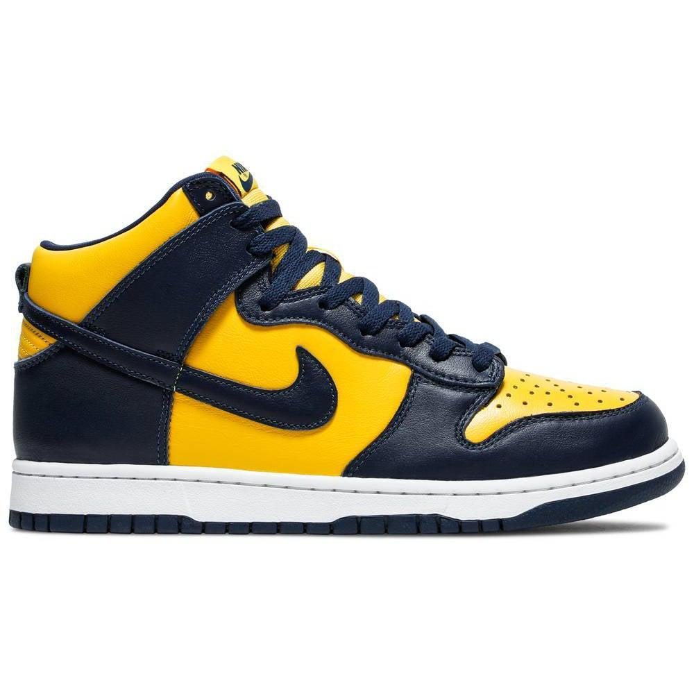 Nike Dunk High SP Retro 'Michigan' 2020 | Waves Never Die | Nike | Sneakers