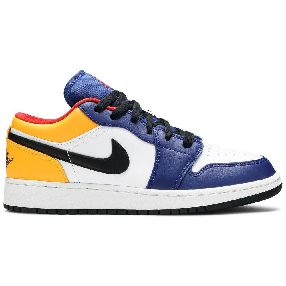 Nike Air Jordan 1 Low GS 'Royal Yellow' | Waves Never Die | Nike | Sneakers