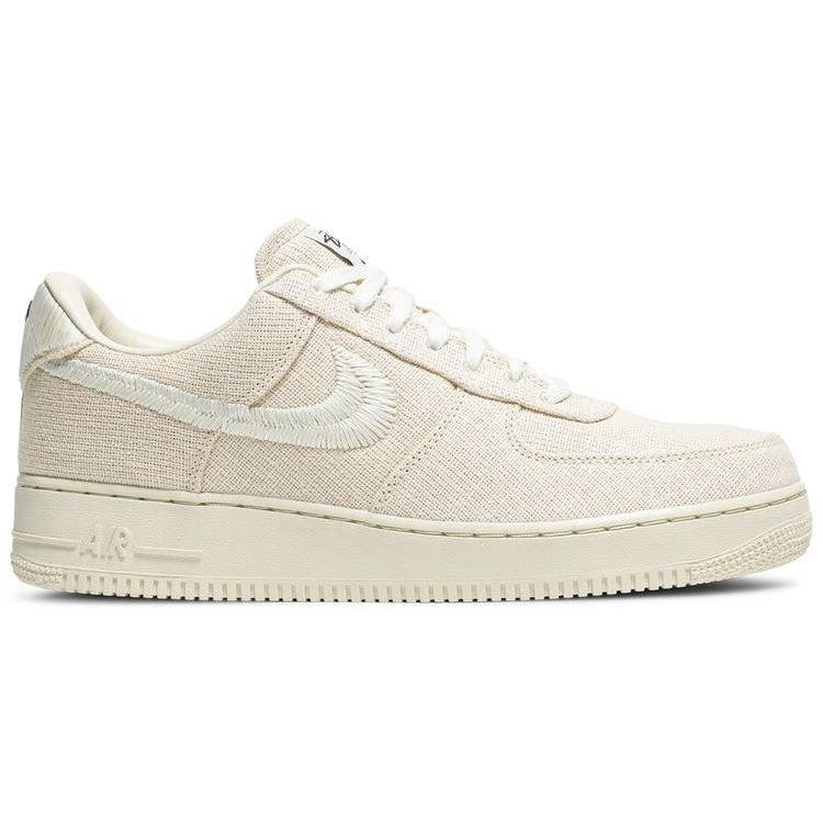 Nike Stussy x Air Force 1 Low 'Fossil' | Waves Never Die | Nike | Sneakers