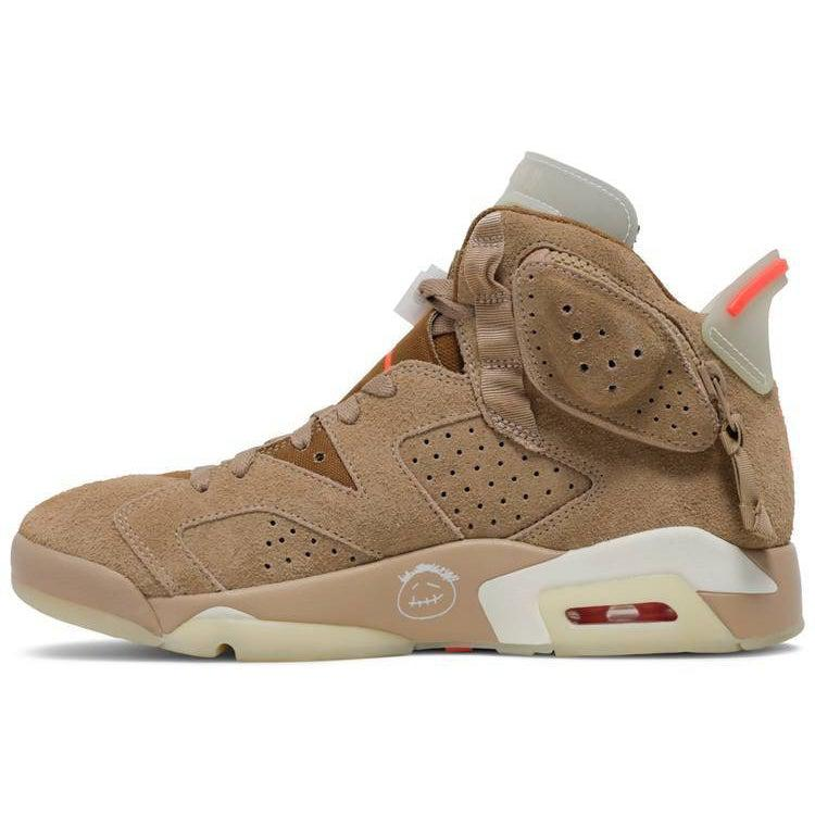 Nike Travis Scott x Air Jordan 6 Retro 'British Khaki' | Waves Never Die | Nike | Sneakers