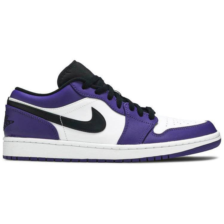 Nike Air Jordan 1 Low 'Court Purple' | Waves Never Die | Nike | Sneakers