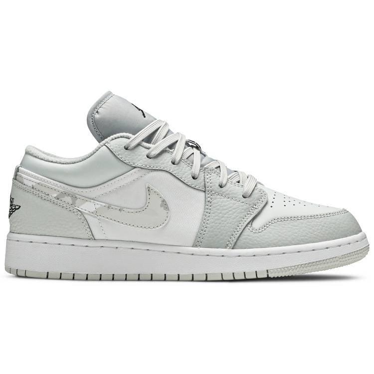 Nike Air Jordan 1 Low SE GS 'White Camo' | Waves Never Die | Nike | Sneakers