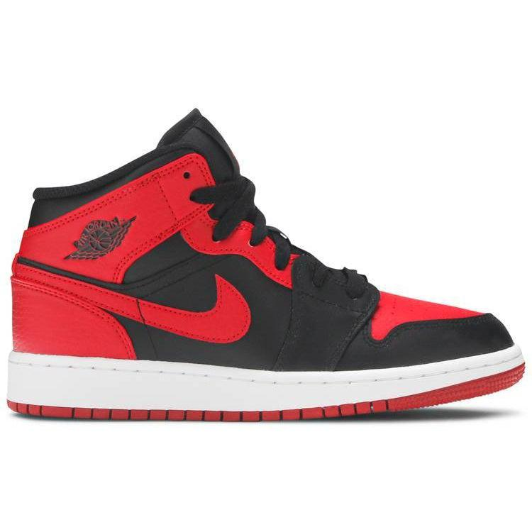 Nike Air Jordan 1 Mid GS 'Banned 2020' | Waves Never Die | Nike | Sneakers