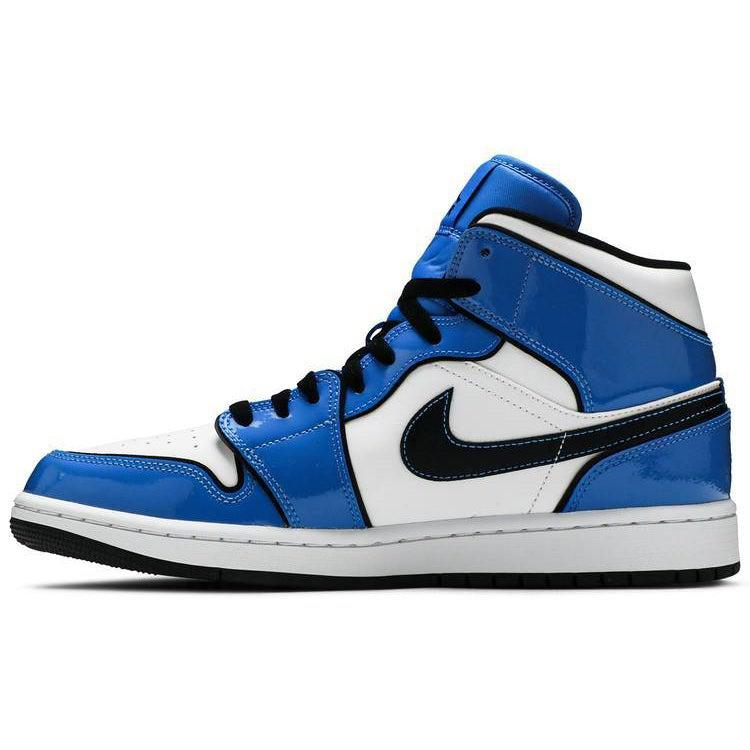 Nike Air Jordan 1 Mid SE 'Signal Blue' | Waves Never Die | Nike | Sneakers