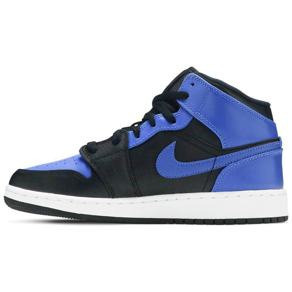 Nike Air Jordan 1 Mid GS 'Hyper Royal' | Waves Never Die | Nike | Sneakers