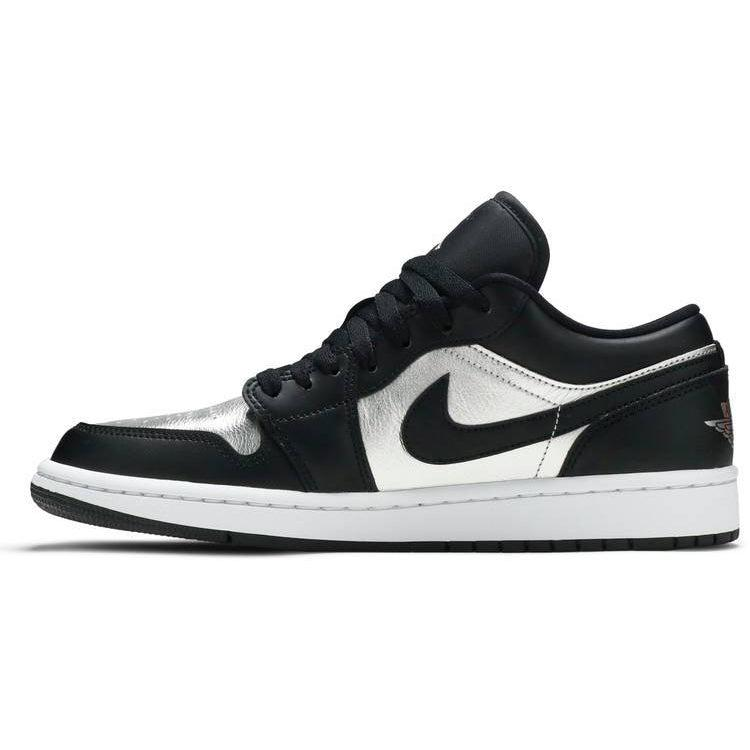 Nike Wmns Air Jordan 1 Low SE 'Silver Toe' | Waves Never Die | Nike | Sneakers