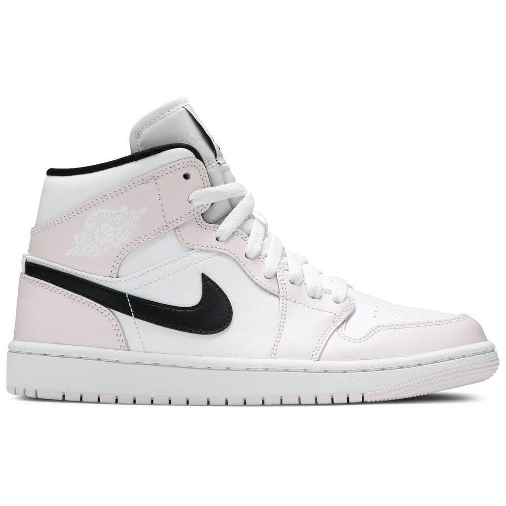 Nike Wmns Air Jordan 1 Mid 'Barely Rose' | Waves Never Die | Nike | Sneakers