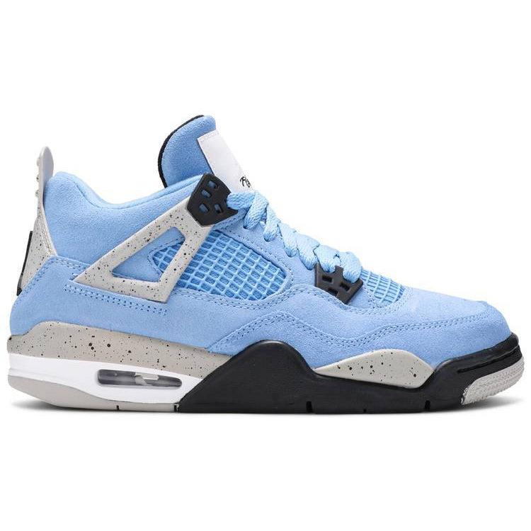 Nike Air Jordan 4 Retro GS 'University Blue' | Waves Never Die | Nike | Sneakers