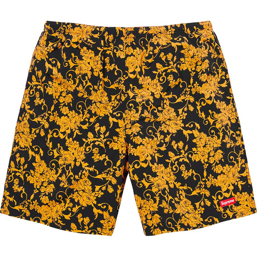 Supreme Nylon Water Short (Floral) | Waves Never Die | Supreme | Shorts