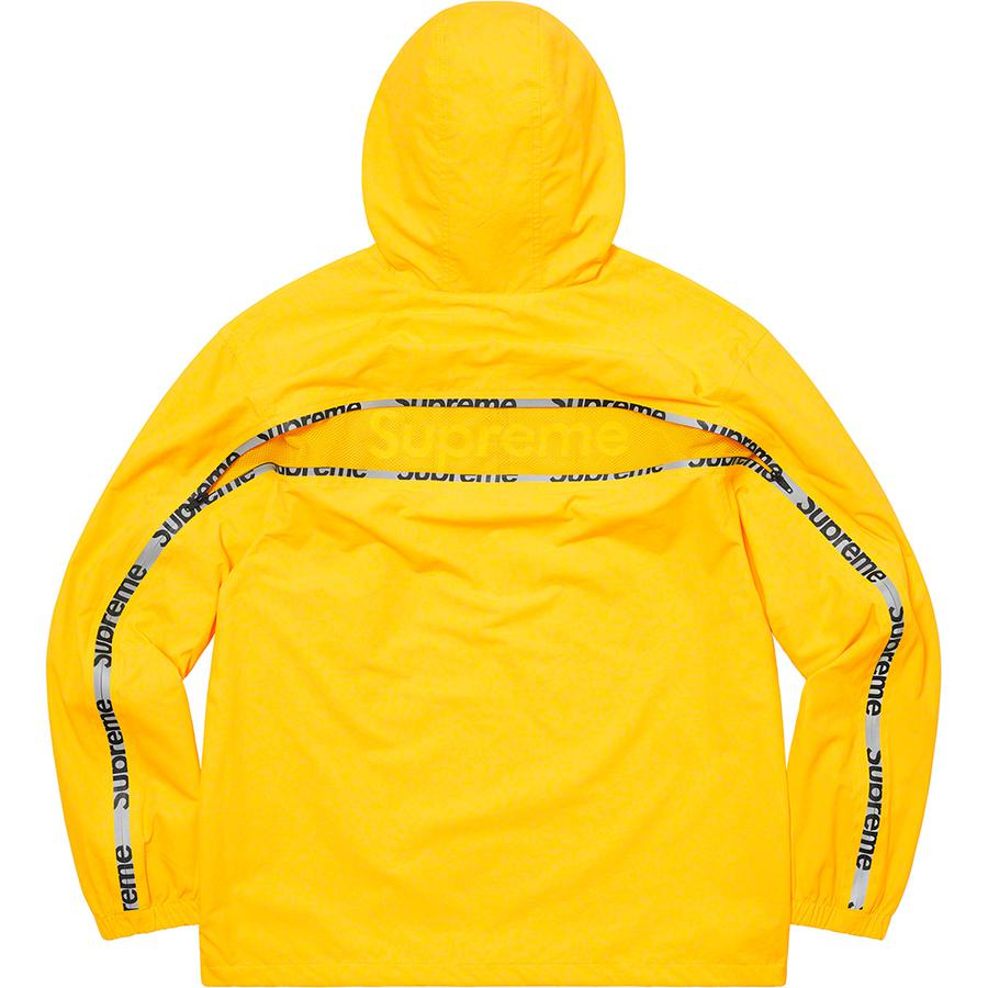 Supreme Reflective Zip Hooded Jacket (Yellow) | Waves Never Die | Supreme | Jacket