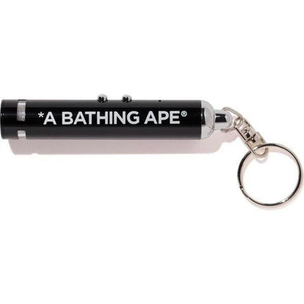 BAPE Projector Light Key Chain Chain Black - Waves Never Die
