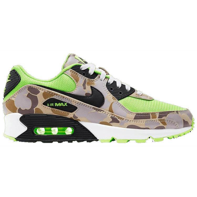 Nike Air Max 90 'Ghost Green Duck Camo' | Waves Never Die | Nike | Sneakers