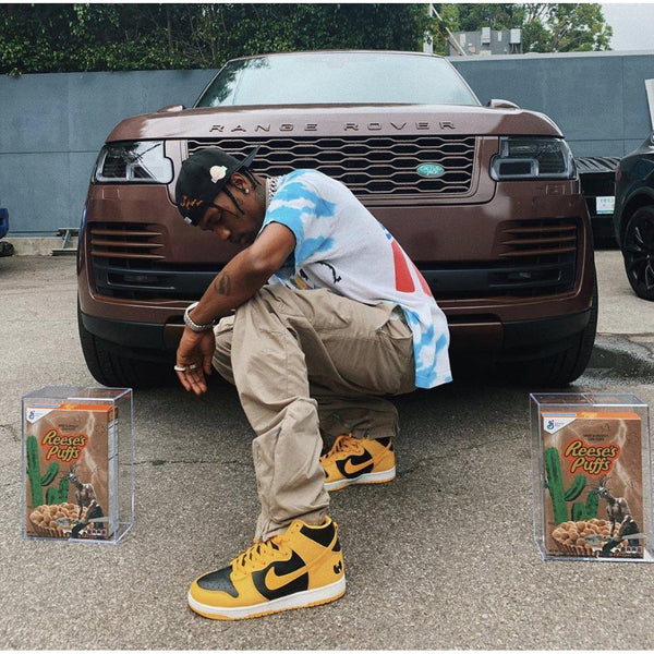 TRAVIS SCOTT X REESE'S PUFFS (ACRYLIC BOX)