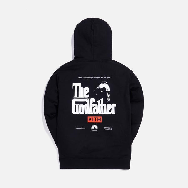 Kith x The Godfather Il Padrino Hoodie Black - Waves Never Die