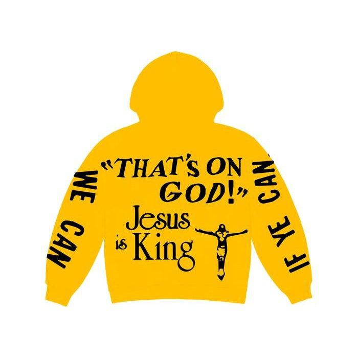 Kanye West CPFM for JIK Hoodie Yellow | Waves Never Die | Kanye West | Hoodie