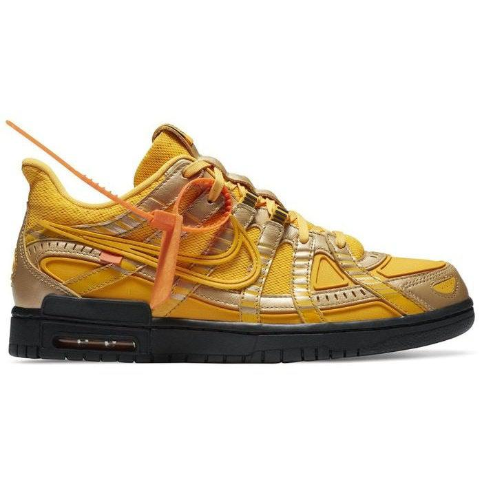 Nike Off-White x Air Rubber Dunk 'University Gold' | Waves Never Die | Nike | Sneakers
