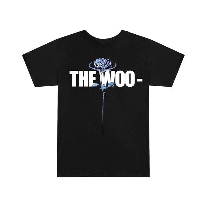 Pop Smoke x Vlone The Woo T-Shirt Black | Waves Never Die | Vlone | T-Shirt