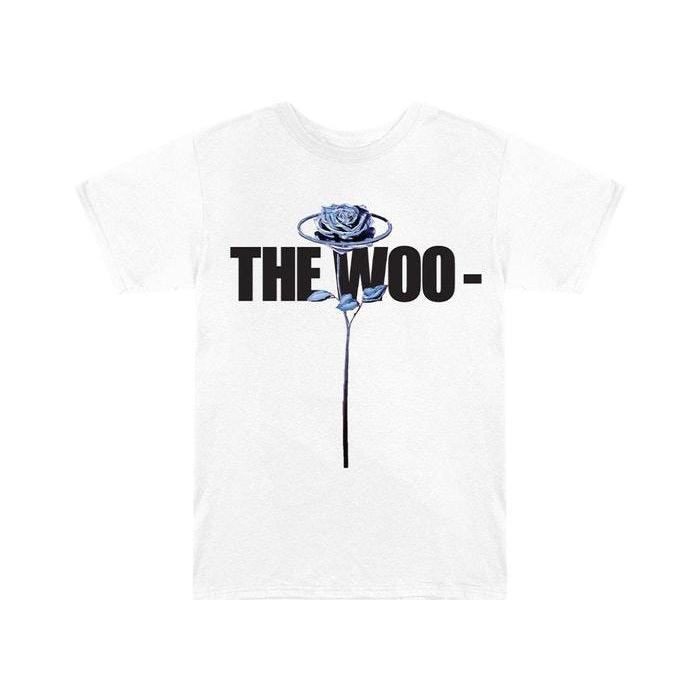 Pop Smoke x Vlone The Woo T-Shirt White | Waves Never Die | Vlone | T-Shirt