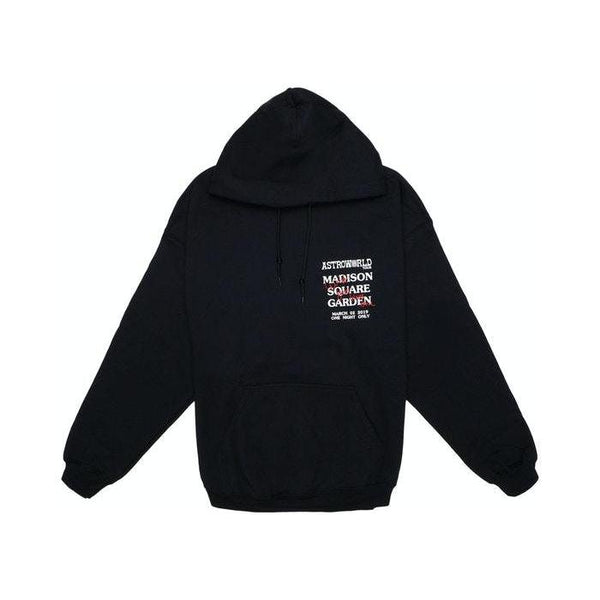Travis Scott Astroworld MSG Rotten Apple Hoodie Black | Waves Never Die | Travis Scott | Hoodie