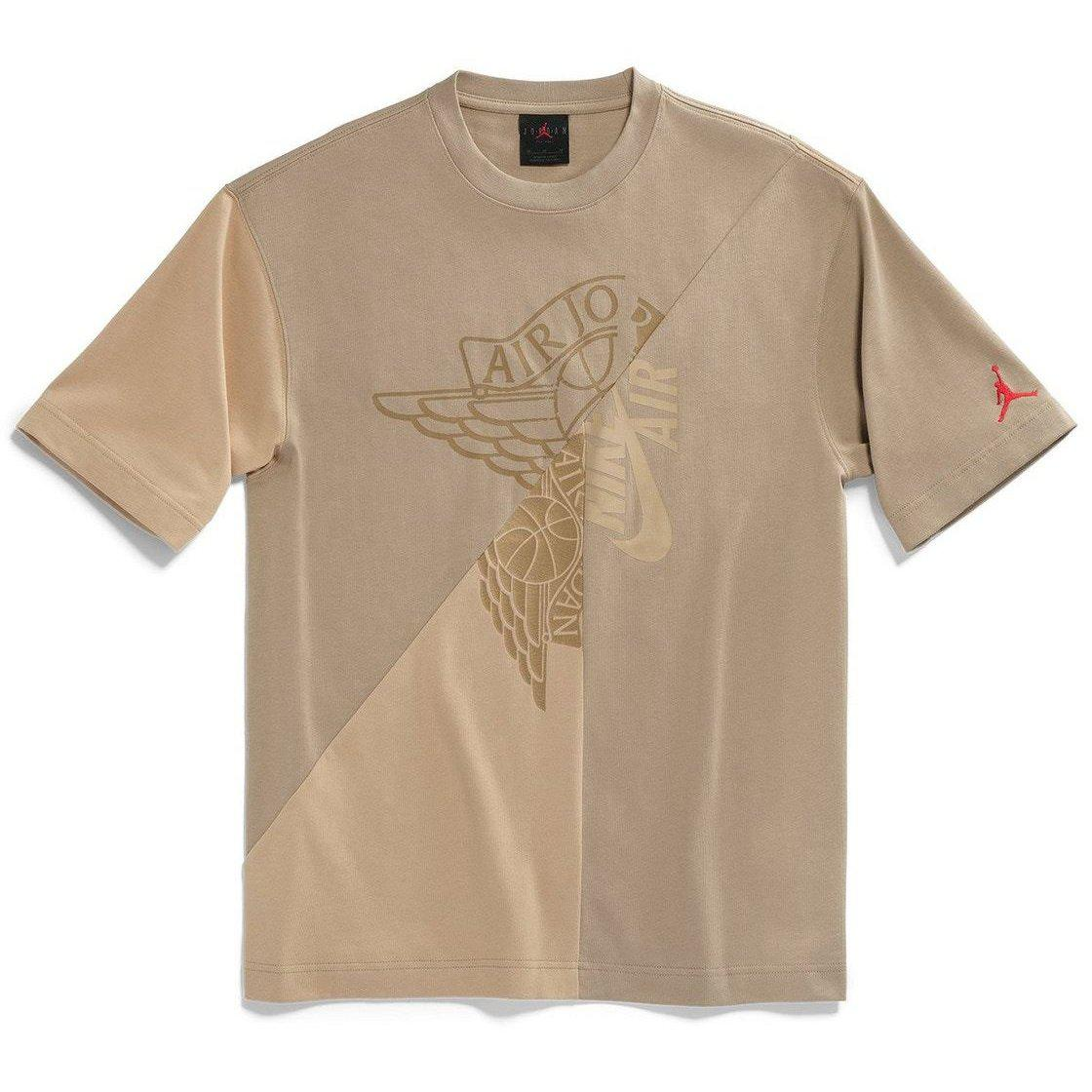 Travis Scott Cactus Jack x Jordan T-Shirt Khaki/Desert | Waves Never Die | Travis Scott | T-Shirt