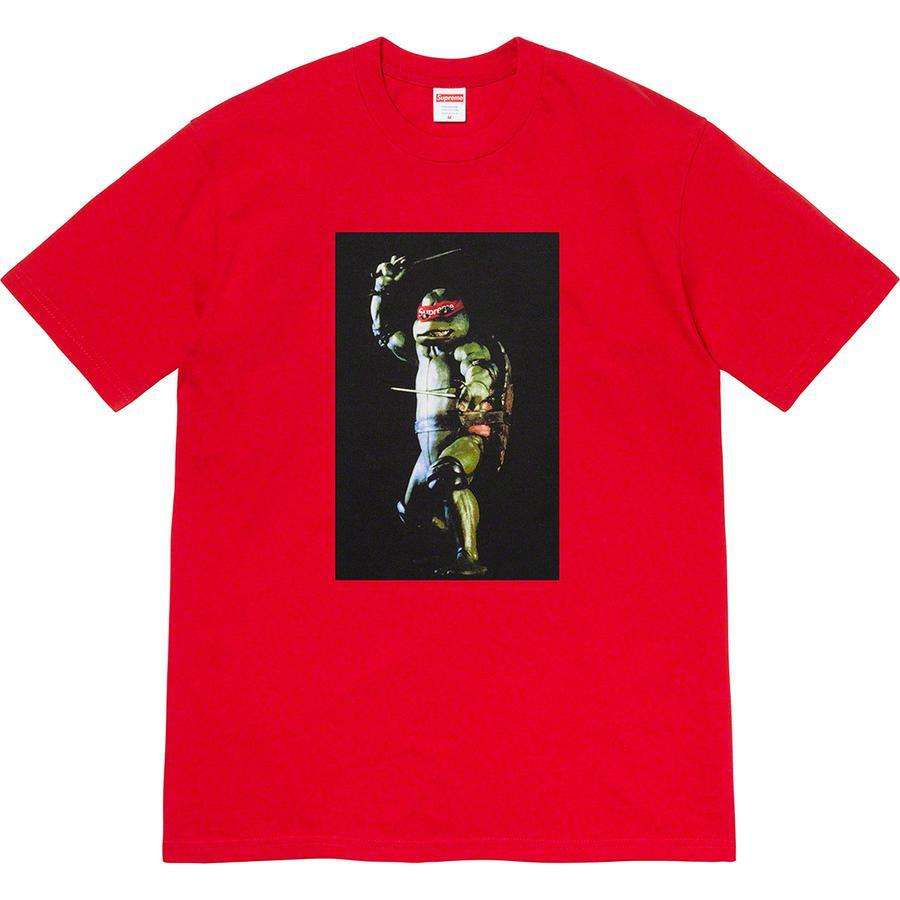 Supreme Raphael Tee (Red) | Waves Never Die | Supreme | T-Shirt