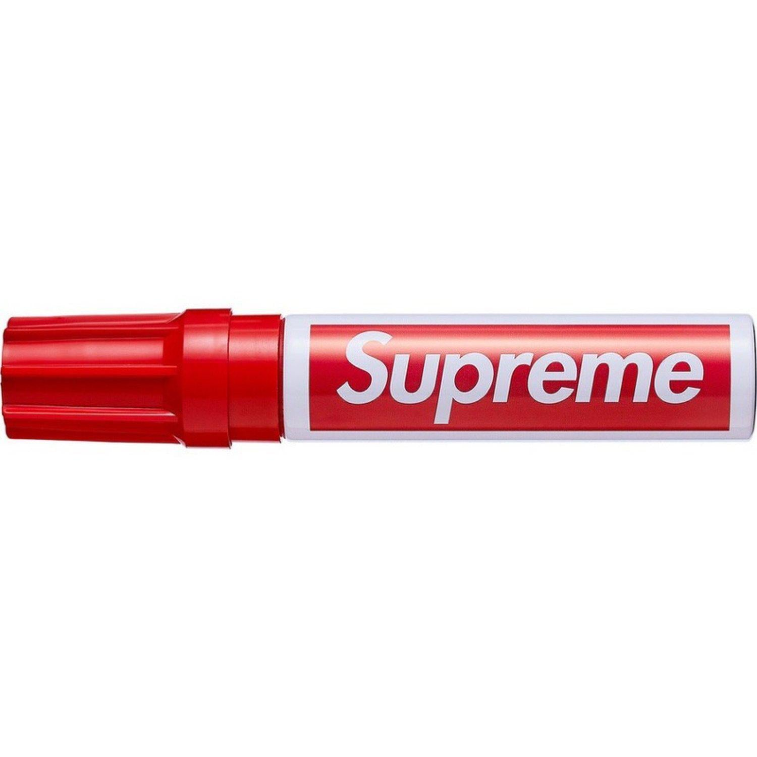 Supreme Pilot Marker Red | Waves Never Die | Supreme |