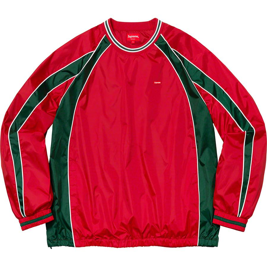 Supreme Piping Warm Up Pullover (Red) | Waves Never Die | Waves Never Die