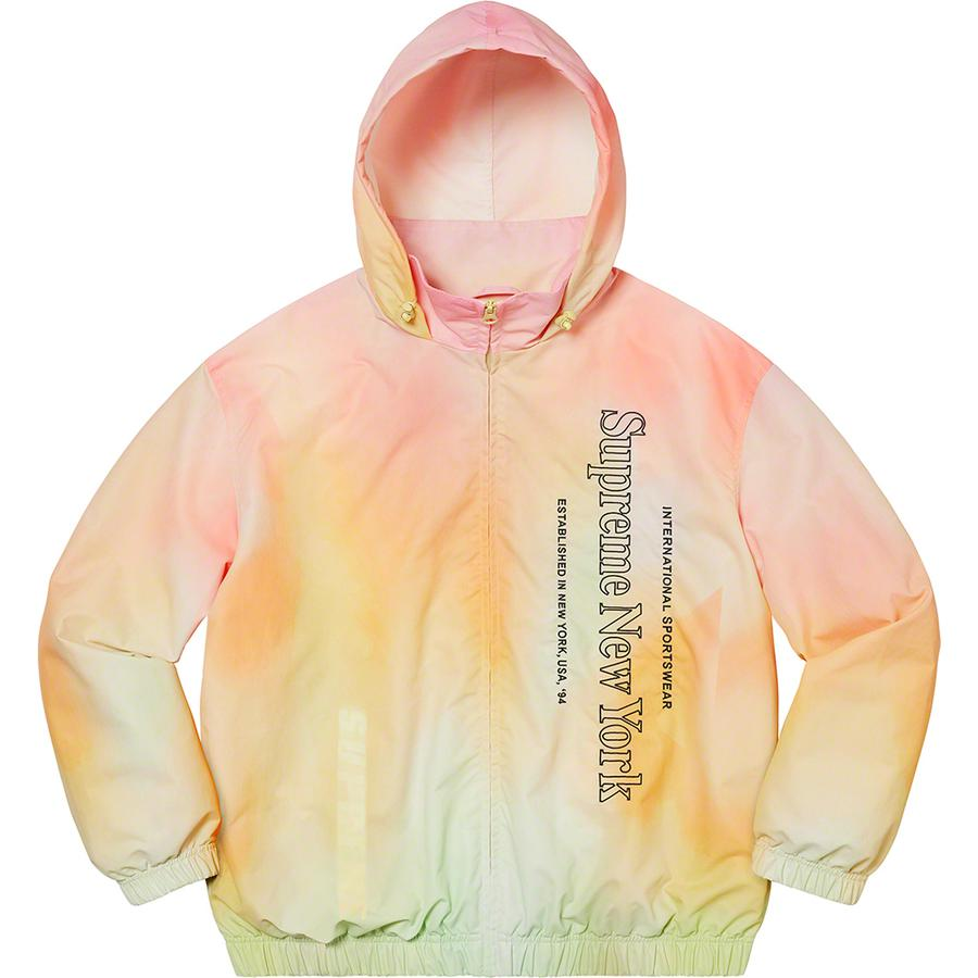 Supreme Side Logo Track Jacket (Yellow Gradient) | Waves Never Die | Supreme | Jacket