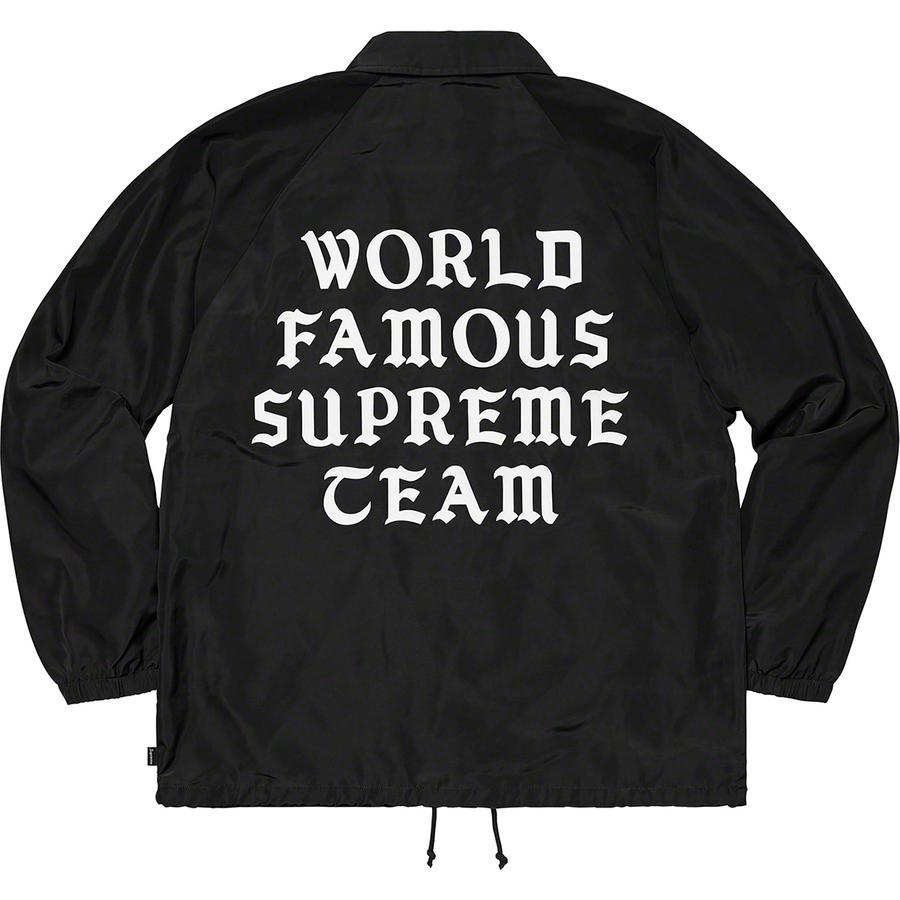Supreme World Famous Coaches Jacket (Black) | Waves Never Die | Supreme | T-Shirt