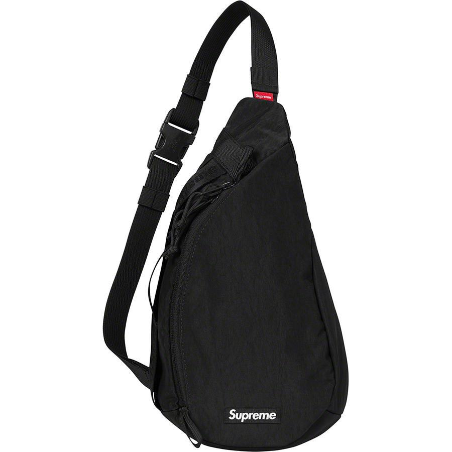 Supreme Sling Bag (Black) | Waves Never Die | Supreme | Bag