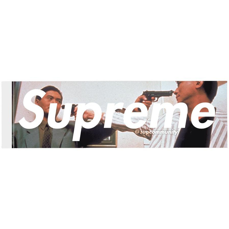 Supreme Killer Box logo Sticker