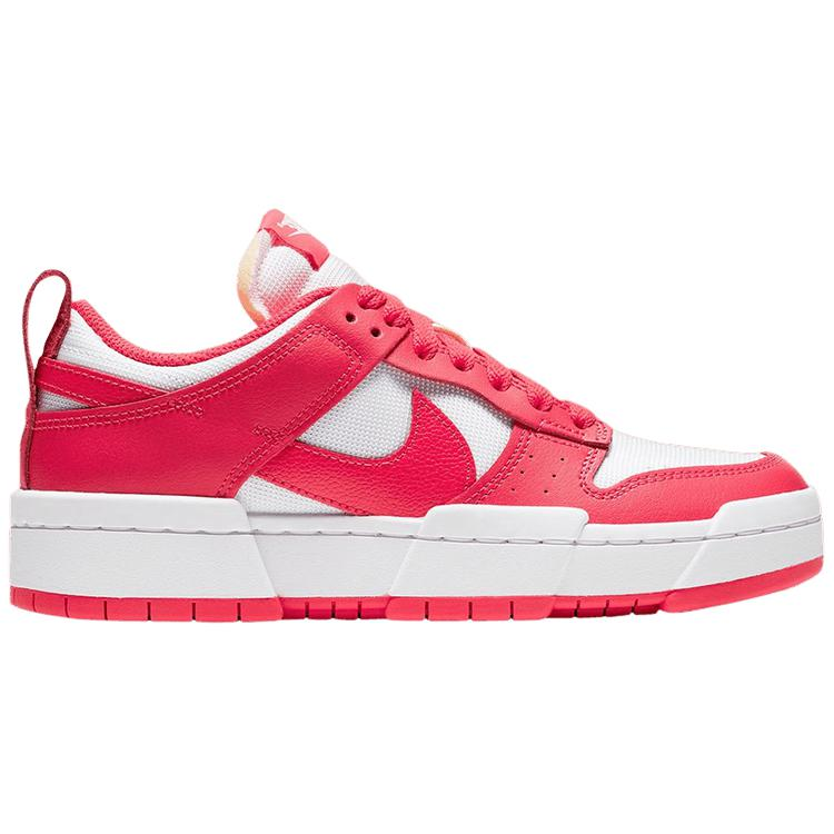 Nike Wmns Dunk Low Disrupt 'Siren Red' | Waves Never Die | Nike | Sneakers