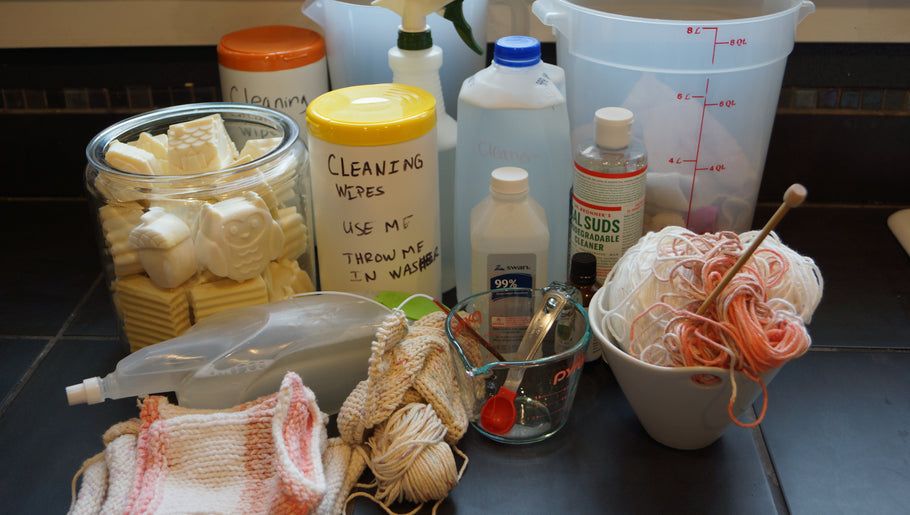 Make Your Own: House Cleaning Wipes