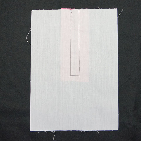 wrong side of 90 degree sewing