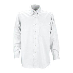 MEN'S EAGLE NO IRON PINPOINT OXFORD DRESS SHIRT
