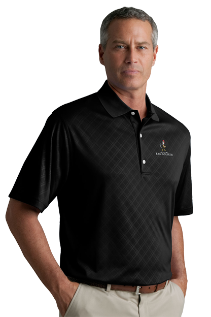 Greg Norman Play Dry® ML75 Diamond Embossed Polo