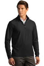 Load image into Gallery viewer, Greg Norman Play Dry® Heather ¼-Zip Mock Neck