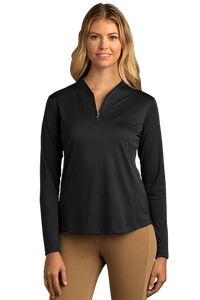 Women's Greg Norman Play Dry® Tulip Neck ¼-Zip